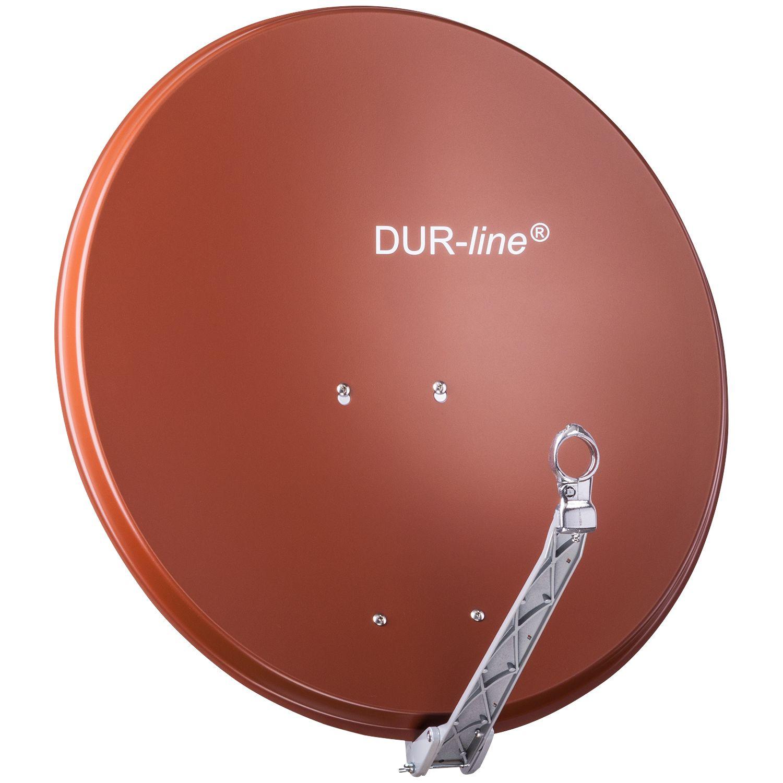 DuraSat Alu Sat-Antenne 75/80 rot DUR-line Select 12082