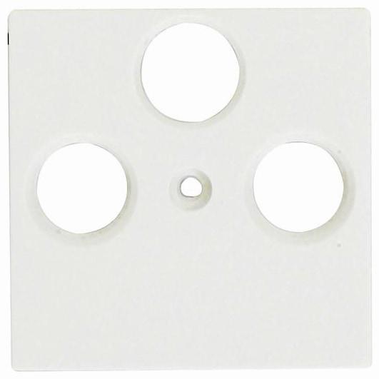 Viko Panasonic Zentralscheibe Antennendose 3-Loch weiß 92542141