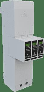 Citel Kombi-Ableiter TYP 1+2+3 für Sammelschienensysteme 40mm ZPAC1-13VG-31-275