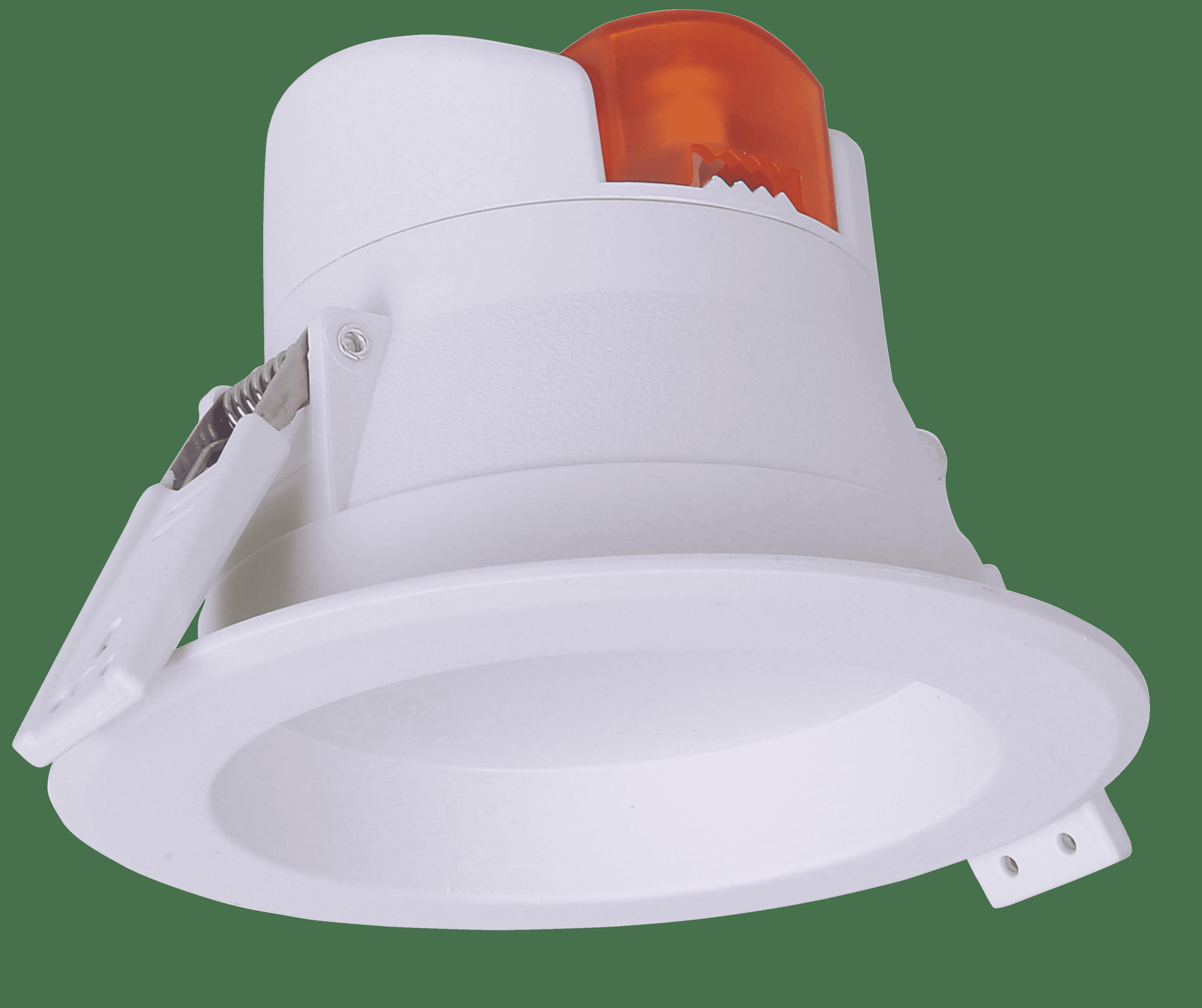 M-light LED Einbaustrahler 7W 3000K IP44 520lm 230V,3000K nicht dimmbar 81-3150