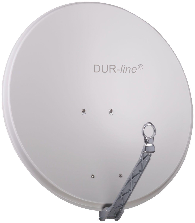 DuraSat Alu Sat-Antenne 75/80 Hellgrau DUR-line Select 12080