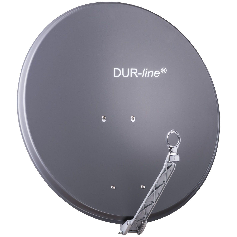 DuraSat Alu Sat-Antenne 75/80 Anthrazit DUR-line Select 12081