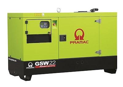Pramac Notstromaggregat GSW 22 Yanmar 18KVA Notstromautomtik ACP mit Schallschutzhaube