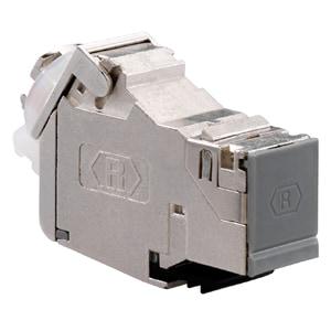 Rutenbeck Cat.6A iso Universalmodul, geschirmt, für Keystone Modulausschnitte
