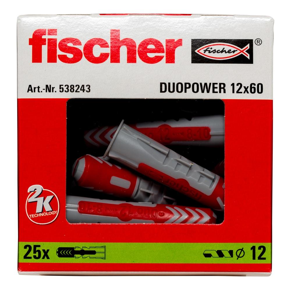 fischer Dübel DUOPOWER 12 x 60 VPE 25  #538243