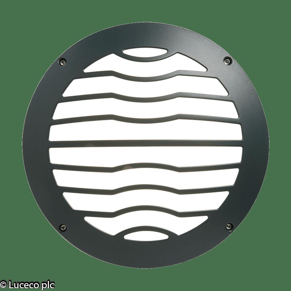 "Luceco Dekorative IP65-Aluminium Druckguss-Gehäuse für Leuchte ""Atlas"" LBH154AMG"