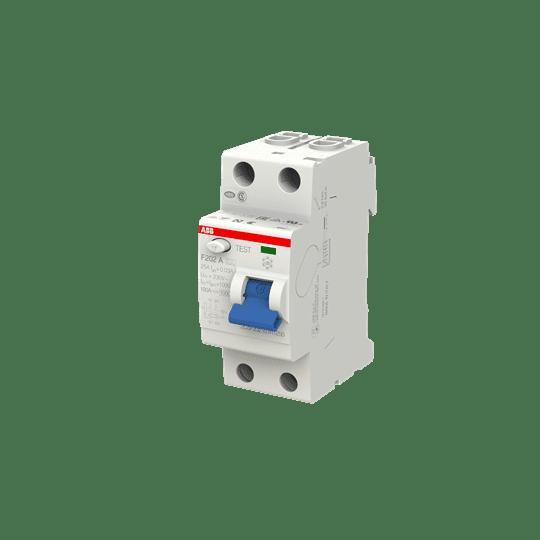 ABB F202A-25/0,03 FI-Schutzschalter 25A 2P 30ma