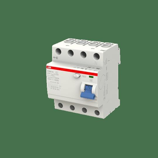 ABB F204A-63/0,03 FI-Schutzschalter 63A 4P 30ma 2CSF204101R1630