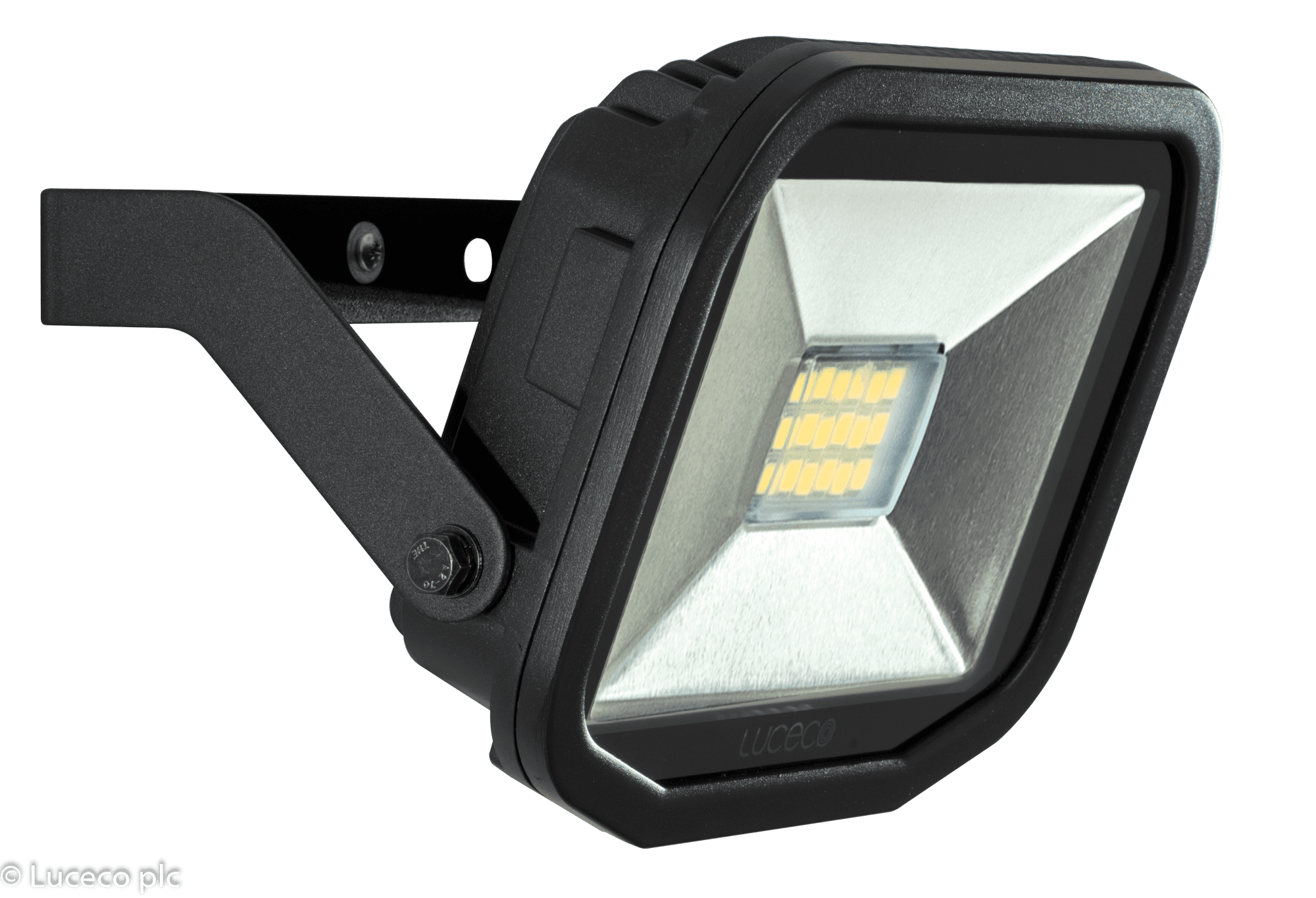Luceco LED Fluter 15W 3000K 1200lm IP65 RAL9005 (200W)