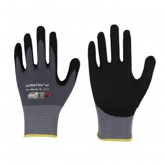Leipold LeiKaFLeipold lex® STAR • Feinstrick-Handschuh GR9 mit Nitril-Beschichtung • Handrücken offen 1486