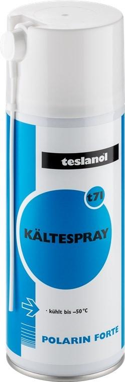Teslanol  Kältespray zur Kühlung von Bauteilen für schnelle Ortung von thermischen Fehlern - 400 ml
