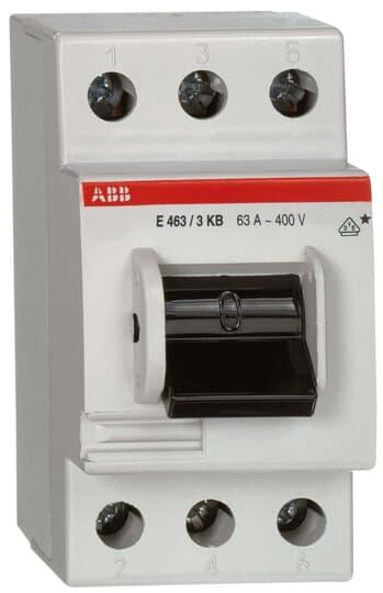 ABB E463/3KB Hauptschalter 63A 3P