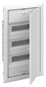 Striebel & John UK636N3 Stromkreisverteiler Unterputz 36 PLE mit Tür und Blendrahmen