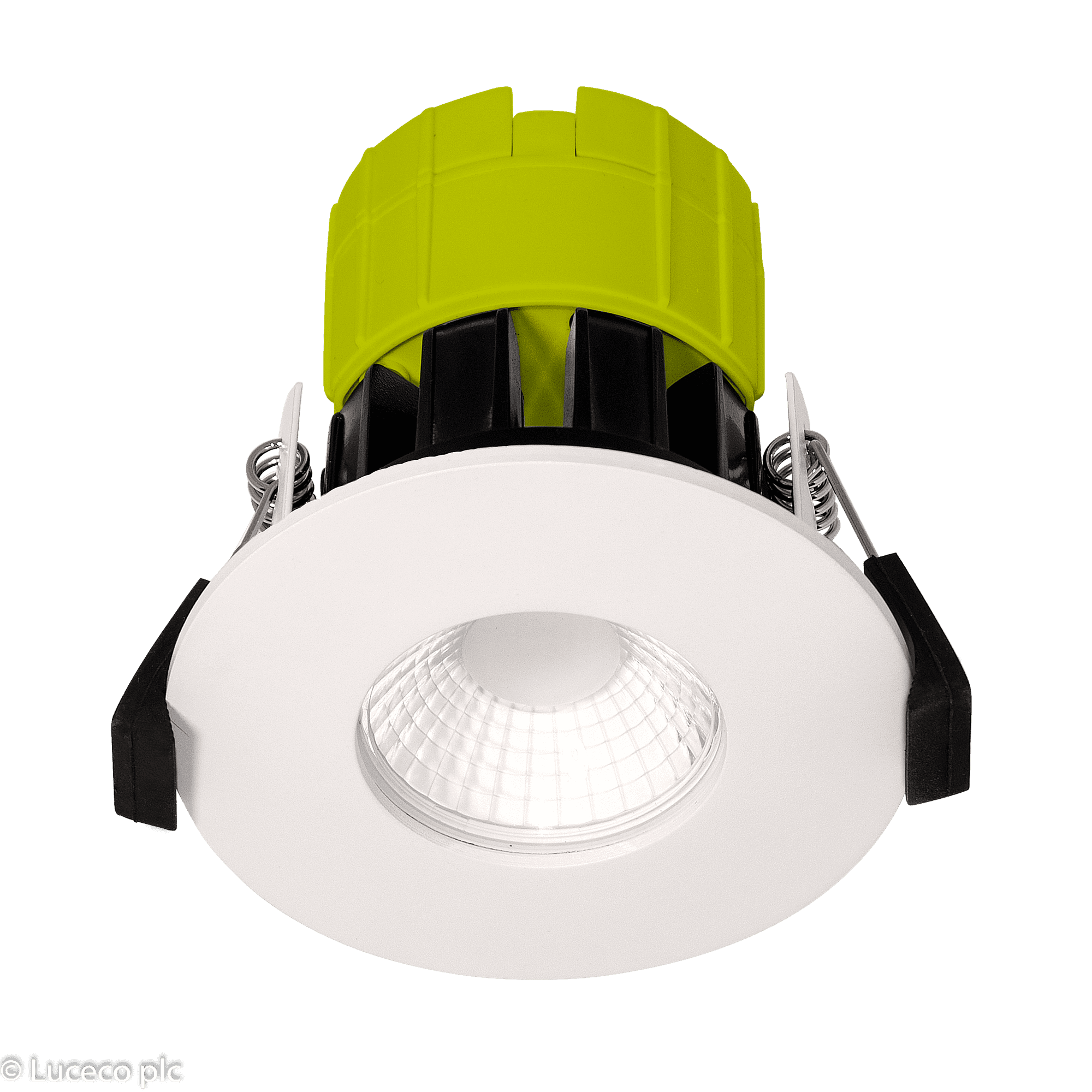 "Luceco LED Einbaustrahler ""FTYPE"" 6W 3000K dimmbar IP65 weiss #EFT60W30-01"