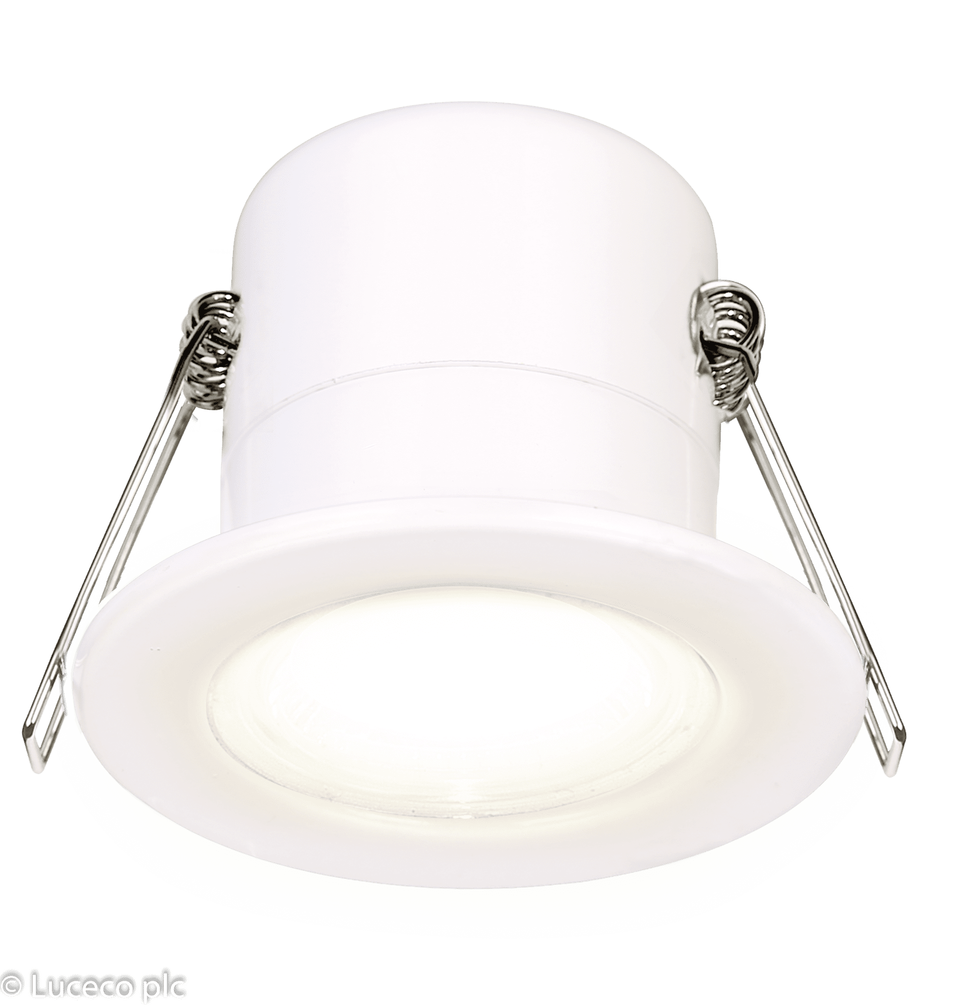 "Luceco LED Einbaustrahler  68er ECO ""F-Type"" 5W 3000K IP65 dimmbar weiß"