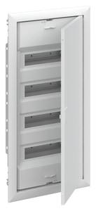 Striebel & John UK648N3 Stromkreisverteiler Unterputz 48 PLE mit Tür und Blendrahmen