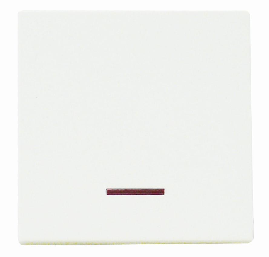 Viko Panasonic Wippe Kontroll-Ausschalter Kalotte rot Farbe weiß 92522019