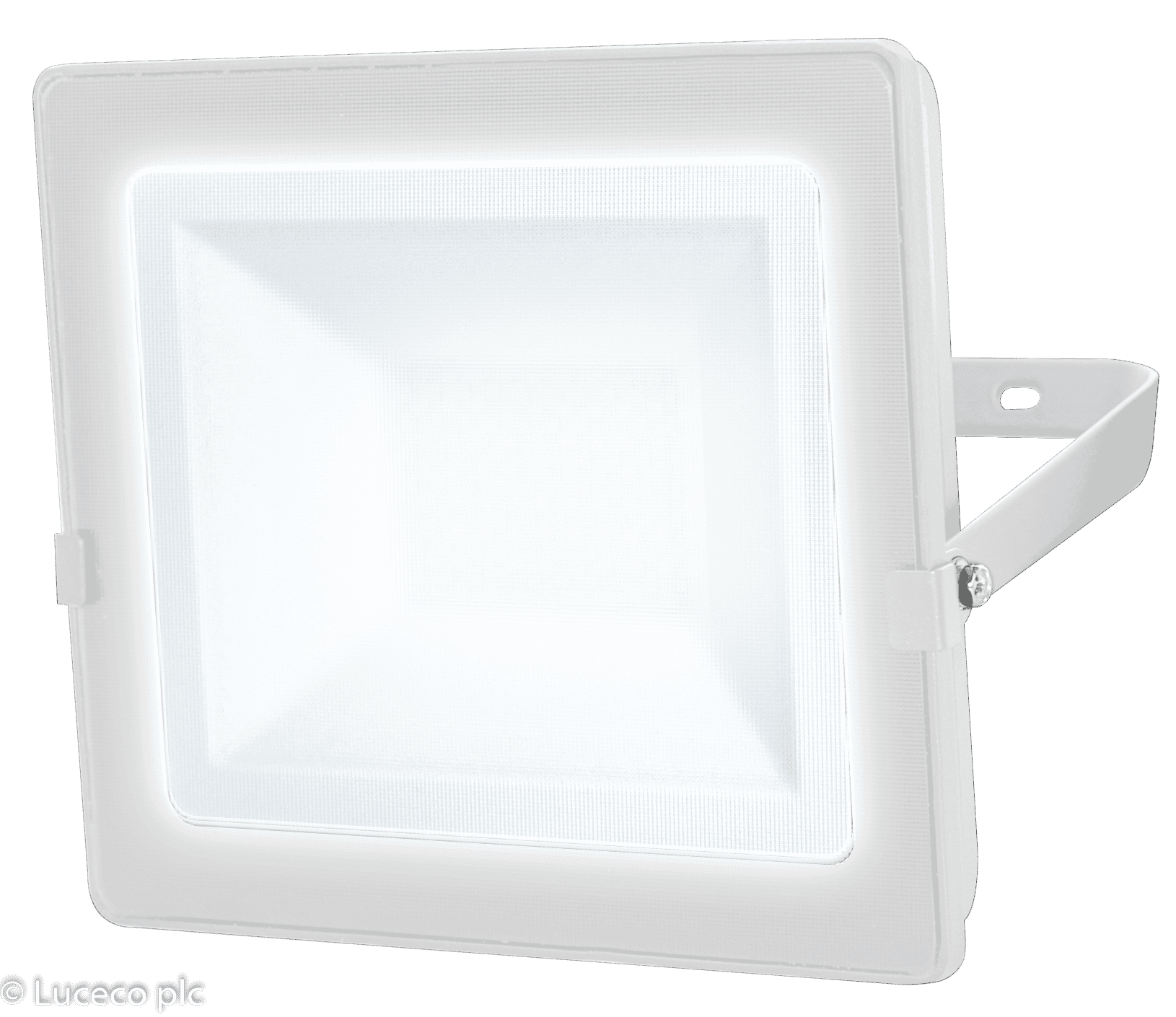 "Luceco LED Fluter ""Eco Slim"" 20W 4000K 1600lm IP65 weiß"