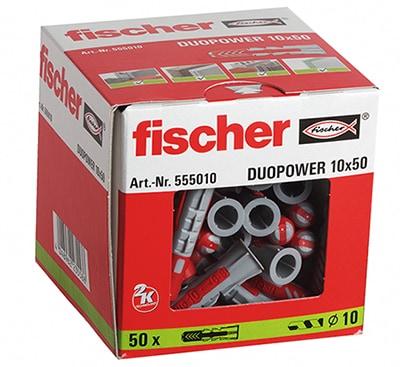 fischer Dübel DUOPOWER 10 x 50 VPE 50 #555010