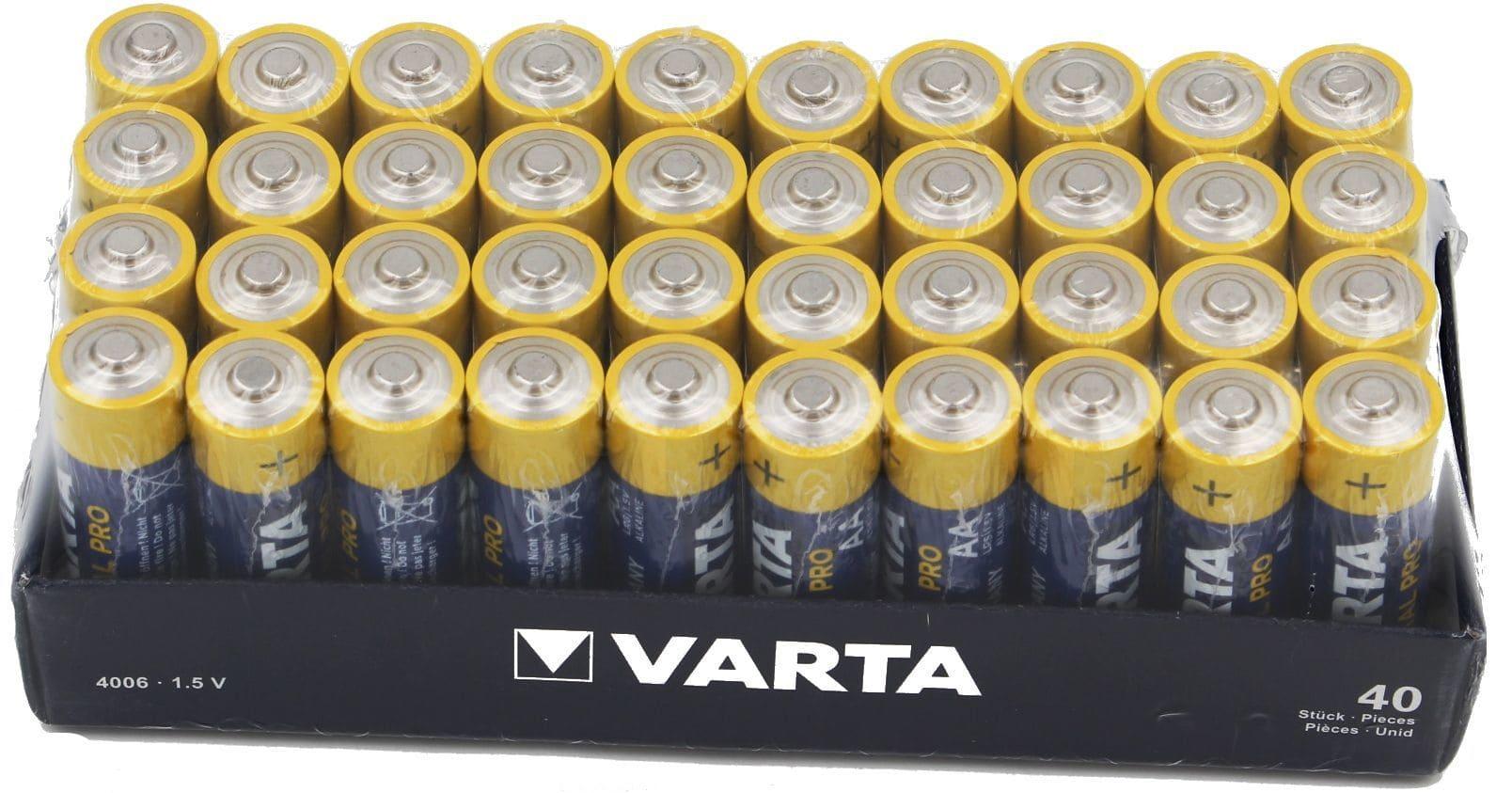 VARTA Industrial 4006 AA 4-shrink VPE40 Stück