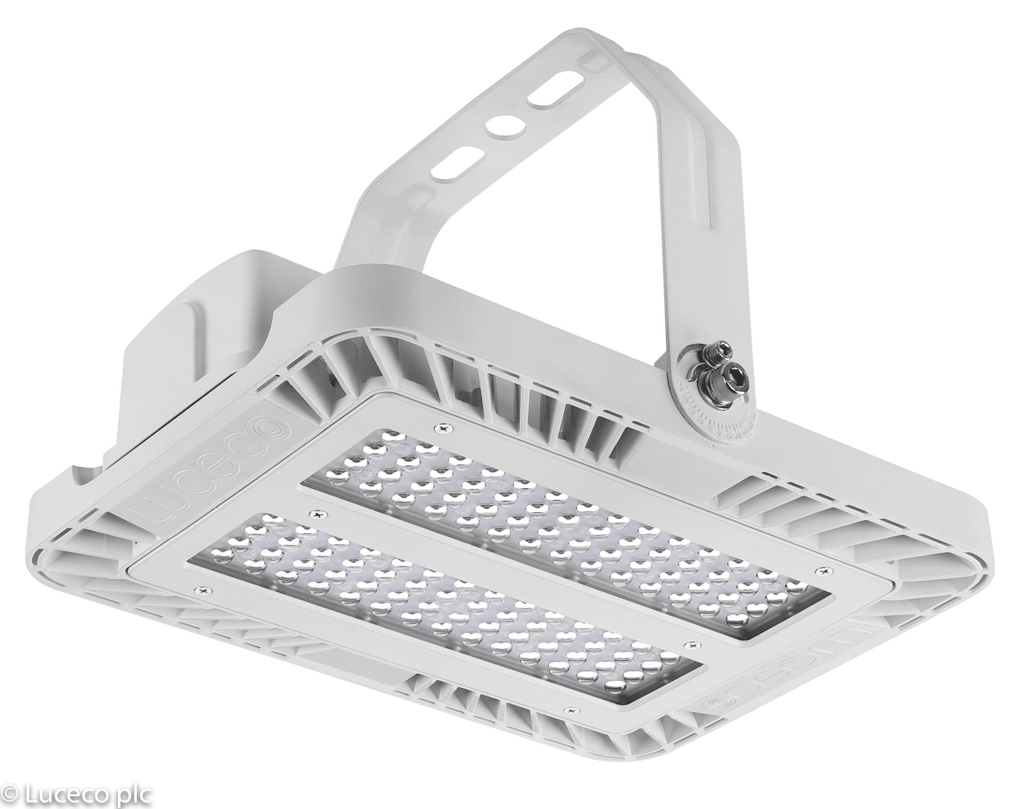 Luceco LED Hallentiefstrahler CERES 11000 Lumen 75 Watt 4000K 147 Llm/W 90 Grad