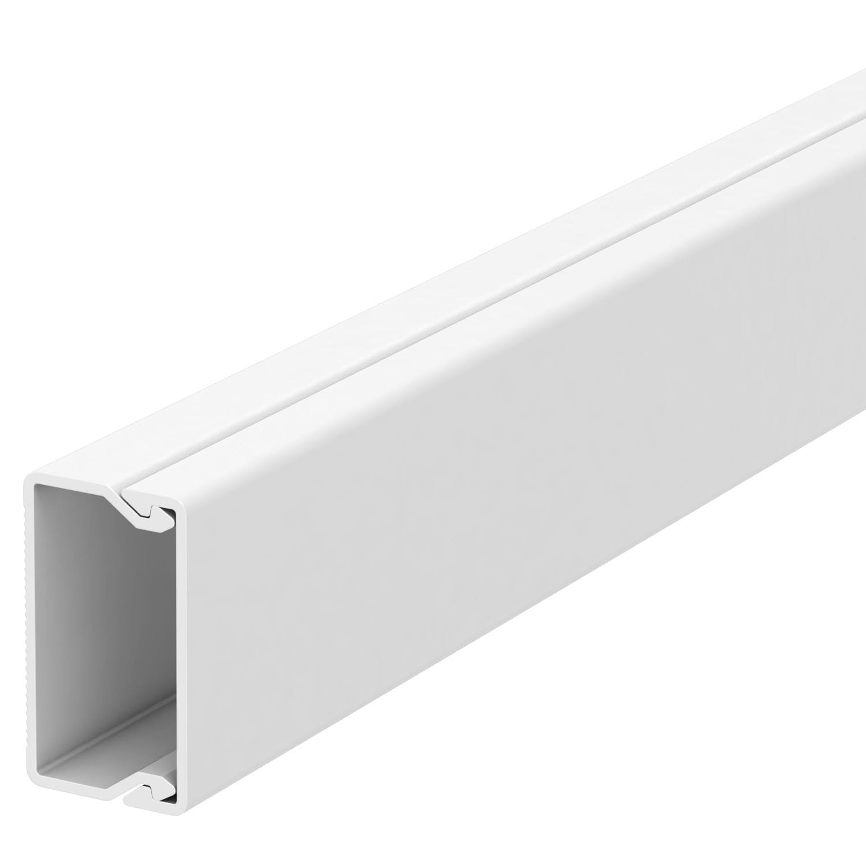 OBO Bettermann 20x35 WDK20035RW Wand+Deckenkanal mit Bodenlochung 20x35mm 2 Meter PVC reinweiss