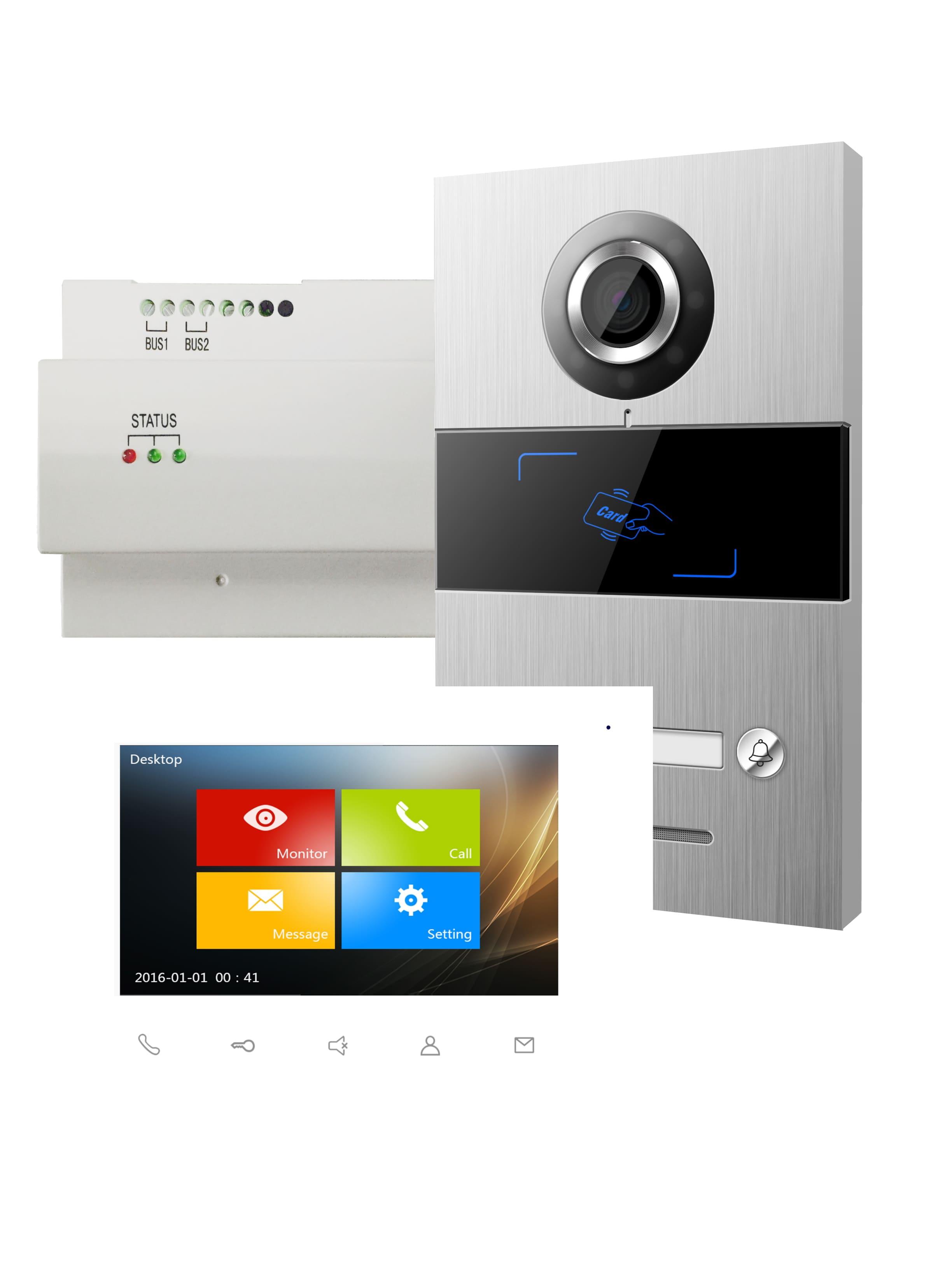 Viko Panasonic Video Türsprechanlagen Set VILLA SET 1 1-Familien-Set