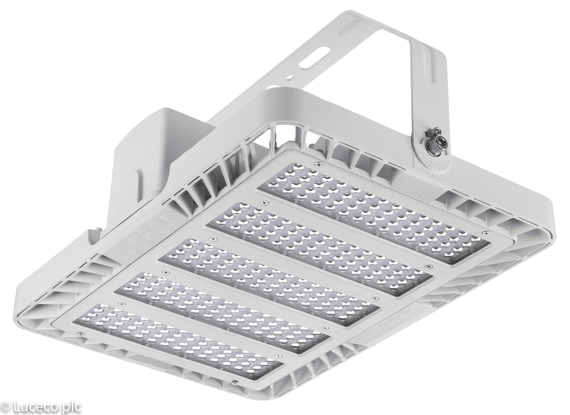 Luceco LED Hallentiefstrahler CERES 28000Lumen 200 Watt 4000K 140 Llm/W 90 Grad