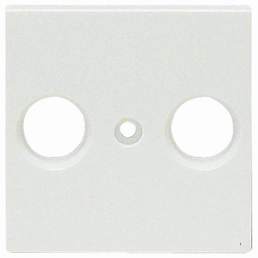 Viko Panasonic Zentralscheibe Antennendose 2-Loch weiß 92542121